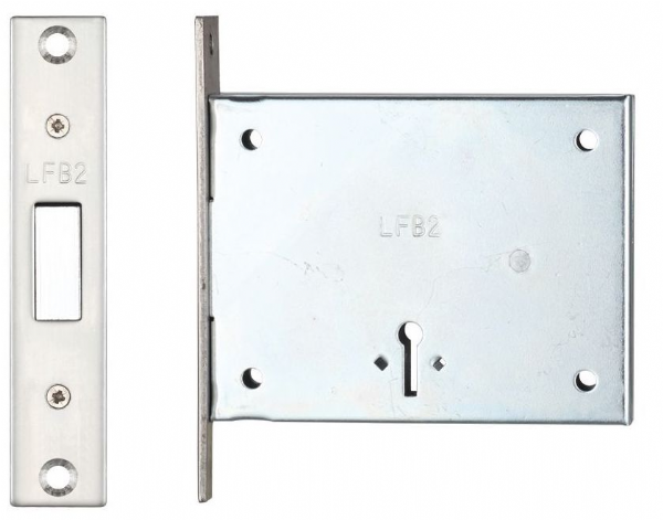 FB2 2 Lever Mortice Deadlock